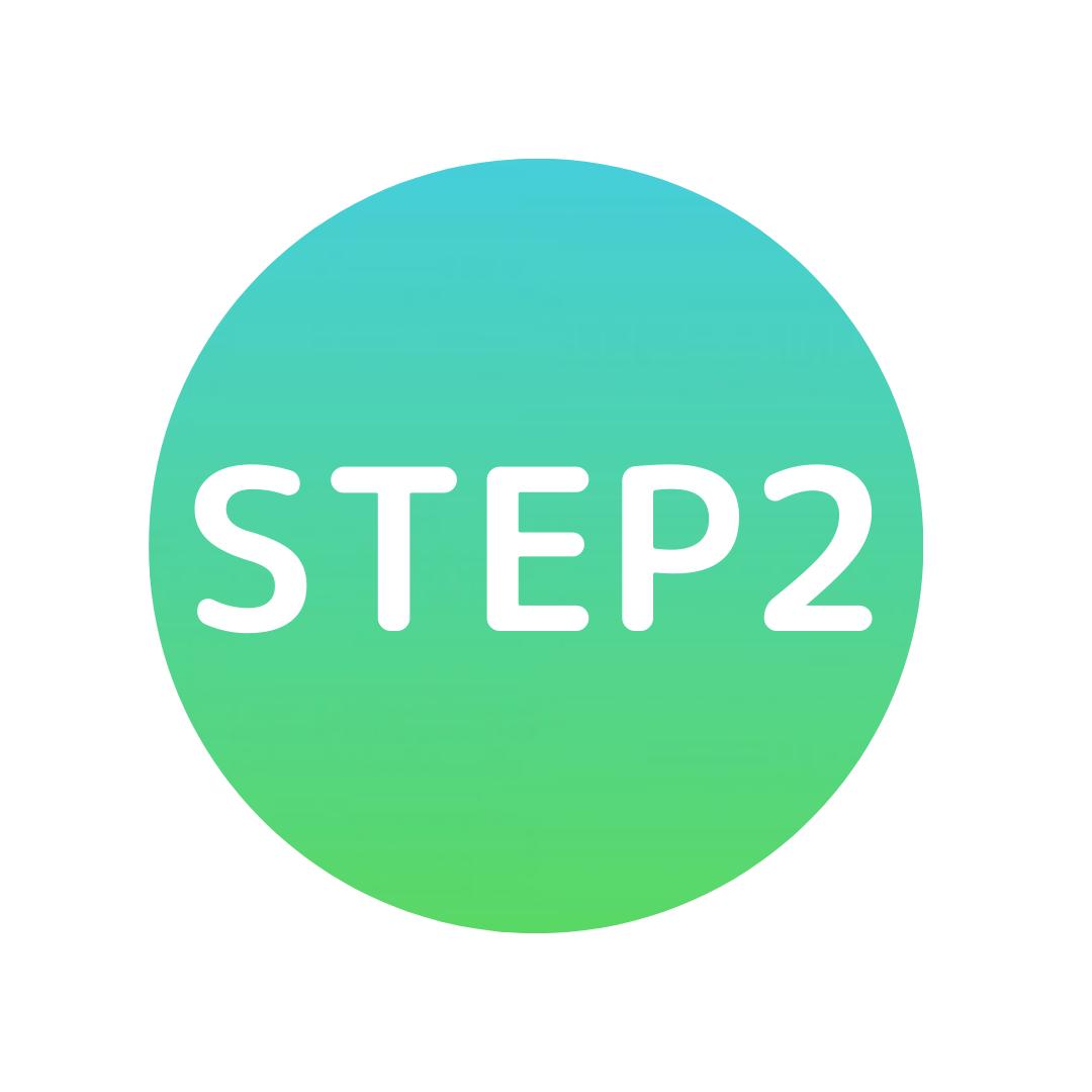 緑の丸のステップ2
